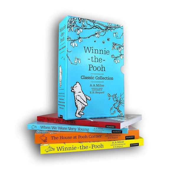 Winnie The Pooh Classic 4 Books Children Collection Paperback By A A Milne - St Stephens Books