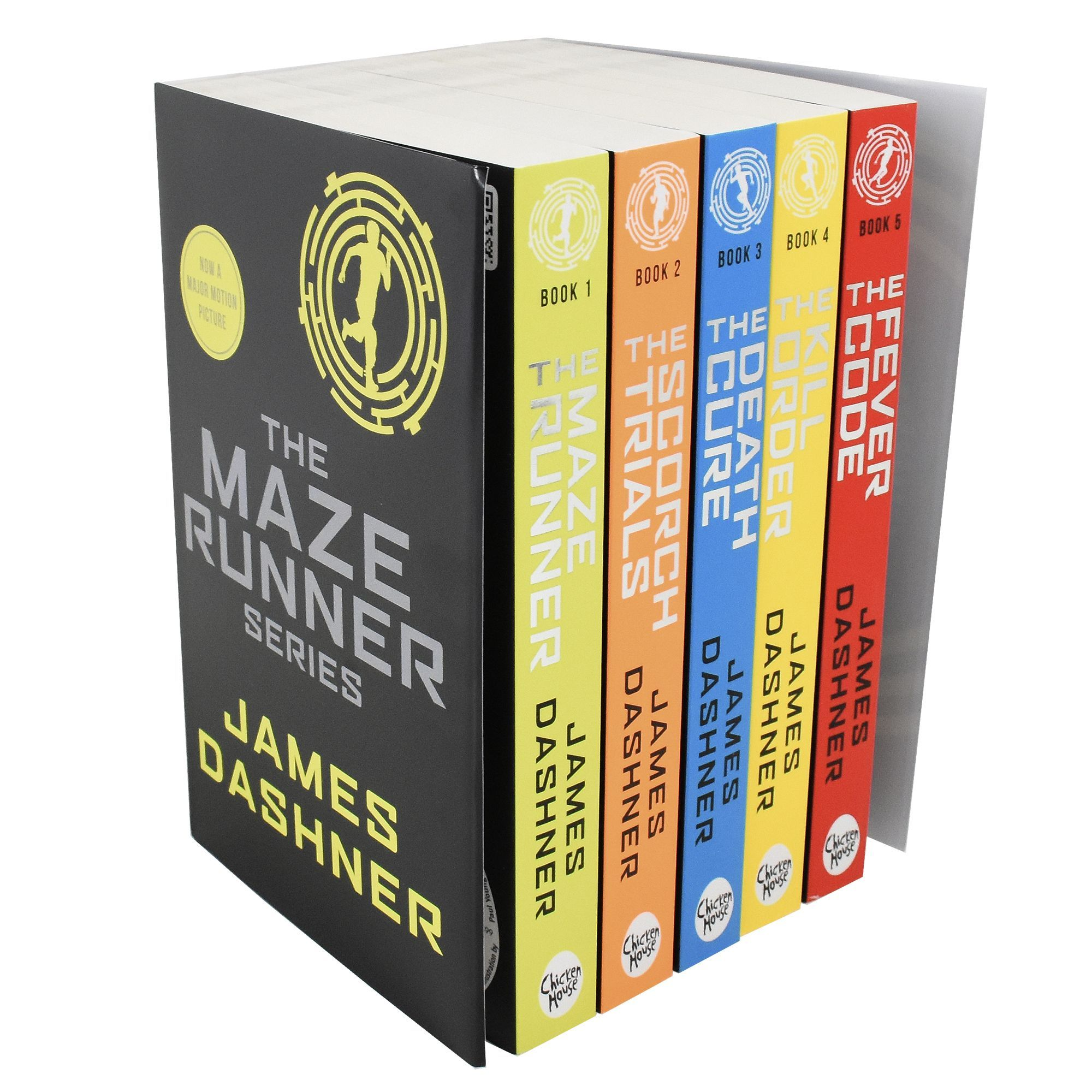 The Maze Runner Series 20 Books Collection Set By James Dashner ...
