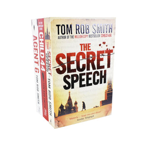 Child 44 Trilogy Series by Tom Rob Smith - St Stephens Books