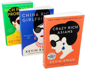 Crazy Rich Asian 3 Books Young Adult Collection Paperback By Kevin Kwan - St Stephens Books