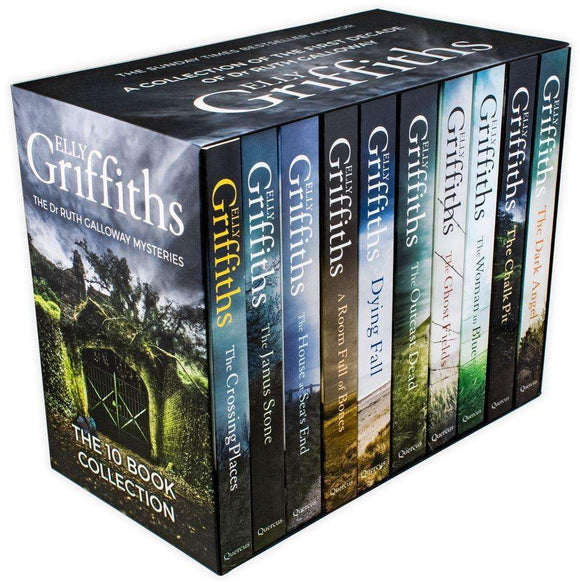 Dr Ruth Galloway Mysteries 10 Books Young Adult Collection Paperback Set By Elly Griffiths - St Stephens Books
