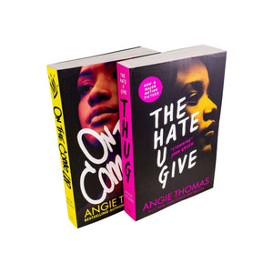 The Hate U Give & On the Come Up 2 Books NEW Collection By Angie Thomas - St Stephens Books