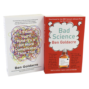 Ben Goldacre 2 Books Young Adult Collection Paperback Set - Bad Science , I Think.. - St Stephens Books