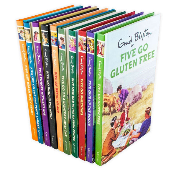 Enid Blyton Famous Five for Grown Ups 10 Books Collection - St Stephens Books
