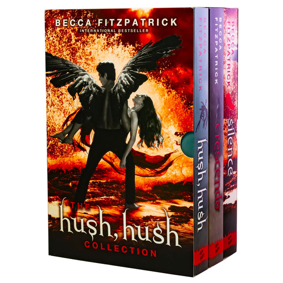 Hush Hush 3 Books Young Adult Collection Paperback By- Becca Fitzpatrick - St Stephens Books