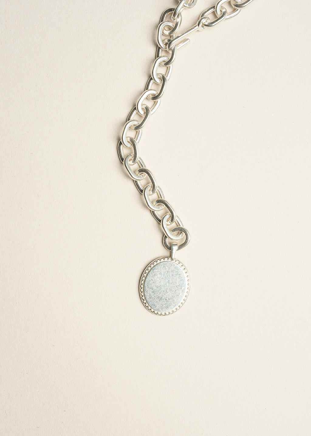 Mat Coin Necklace