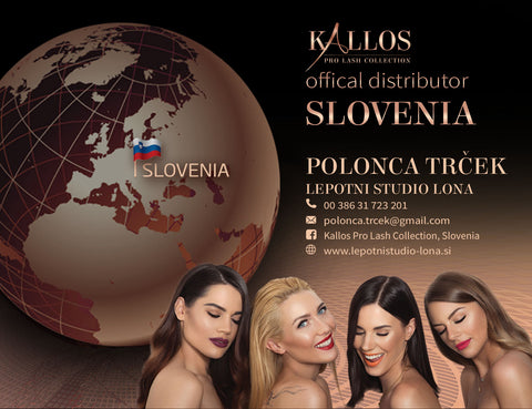 Kallos Pro Lash Collection Distributor Slovenia