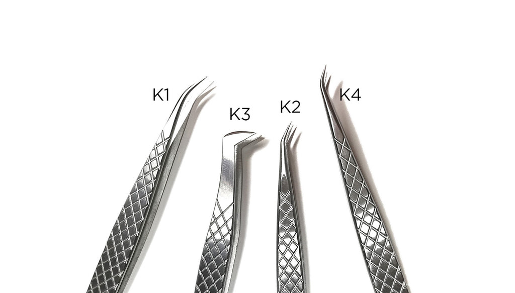 K4  Pinceta  | K4  Curved Silver - Kallosprolashcollection
