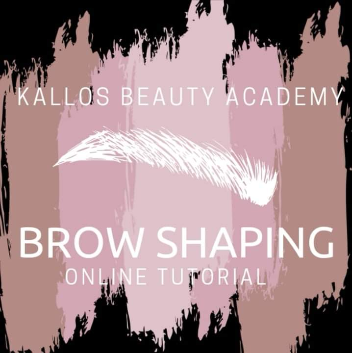 Brow Shaping - online tutorial - Kallos