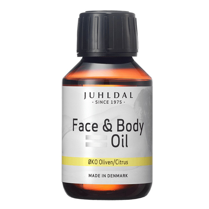Juhldal Organic Face & Body Oil Olive/Citrus - 100ml