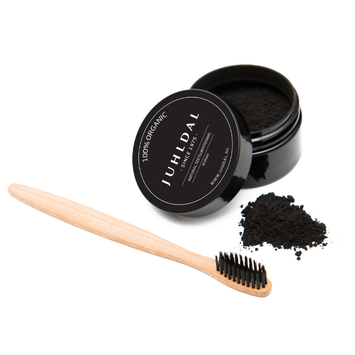 Juhldal Active Coal with bamboo toothbrush