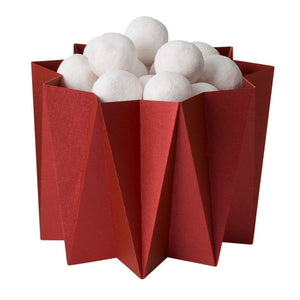 Oigami cover vases - Dark Red S - 2 pcs