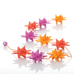 Cyclame - star garland no 30