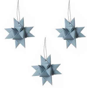 Gray Blue star M - 3 pcs