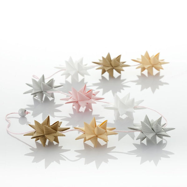 Creme & Sand - star garland no 33