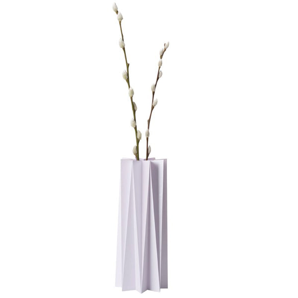 Origami cover vase - Lilas L