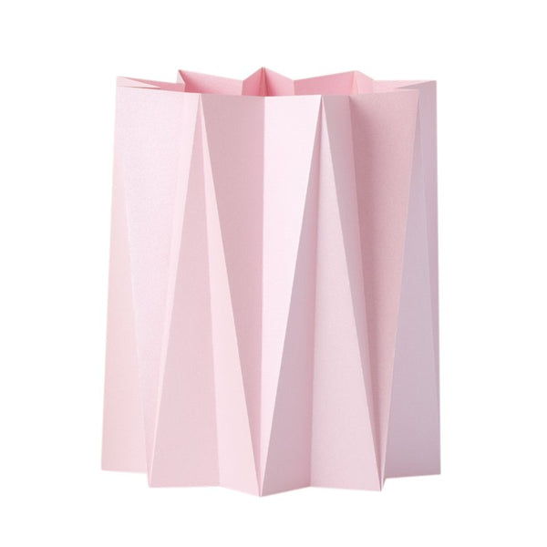 Origami cover vase - Rose M - 2 pcs