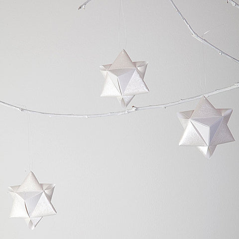 Tapestry  cotton Cube stars- 2 pcs