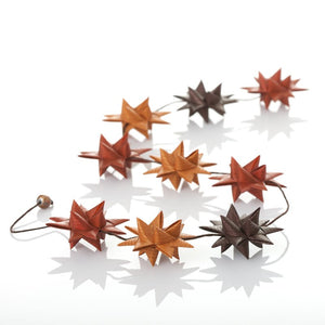 Choco Light - star garland no 25