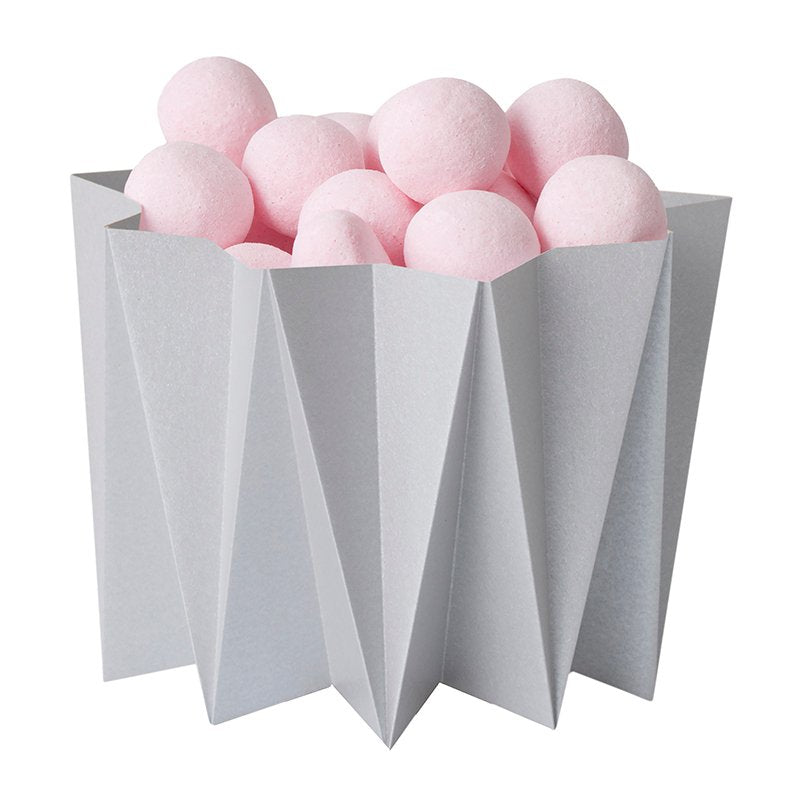 Origami cover vases - Gray S - 2 pcs