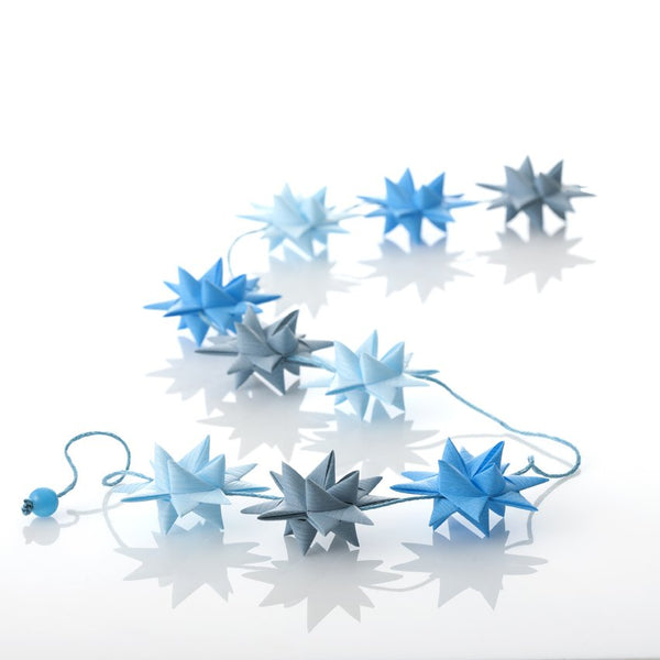 Light Blue - star garland no 19
