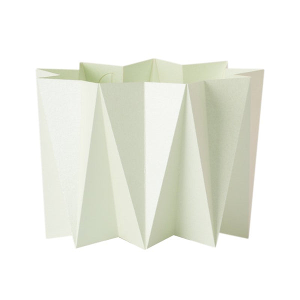 Origami cover vase - Green S - 2 pcs