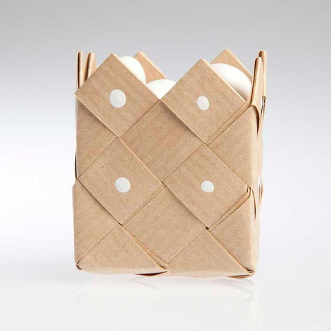 Basket nature paper - 3 pcs