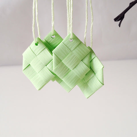 Pistachio prisms S - 5 pcs