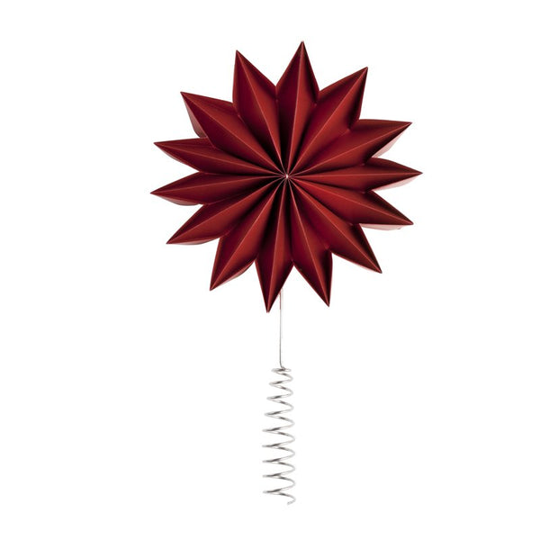 Pleat Tree topper - Dark Red X-Giant