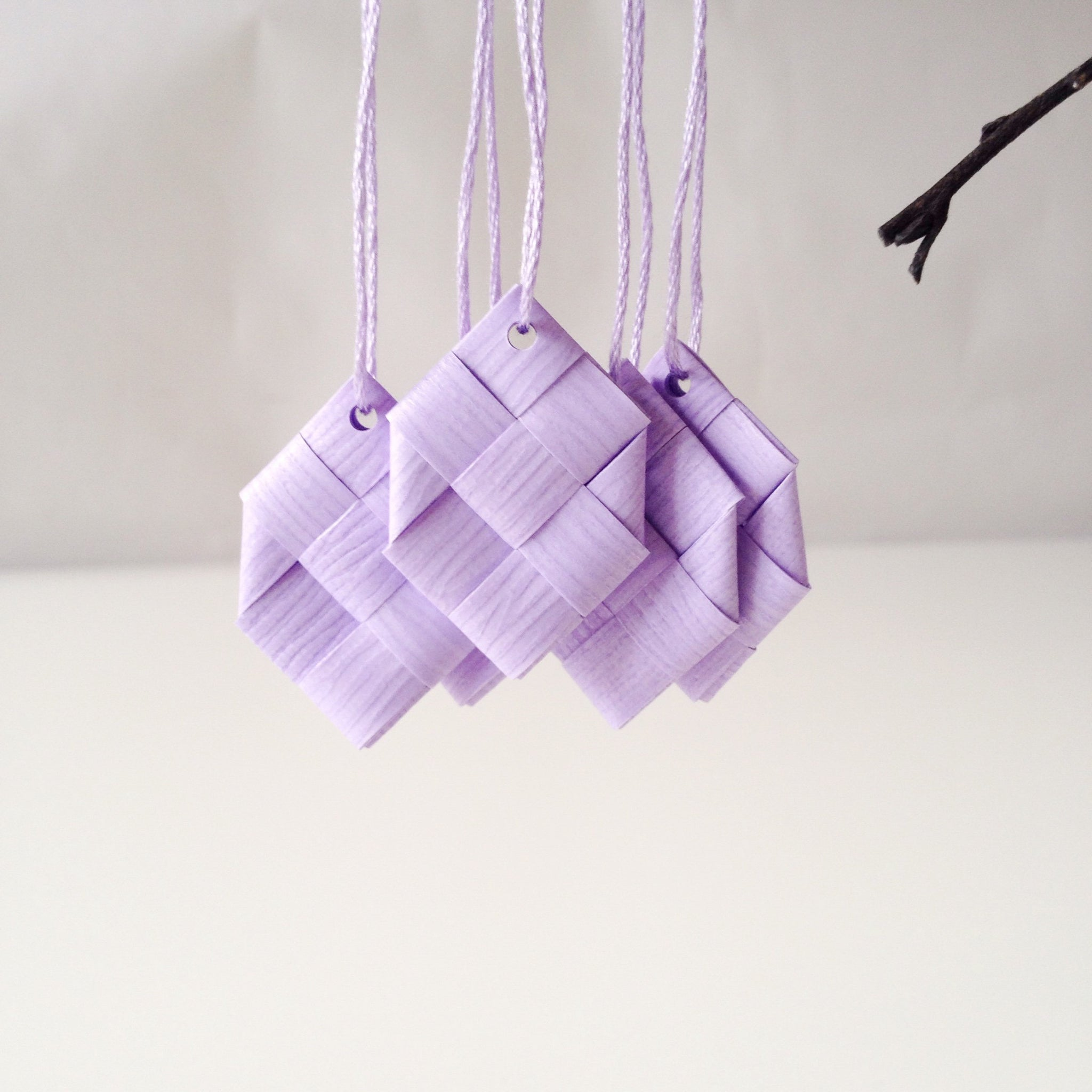 Lilas prisms S - 5 pcs