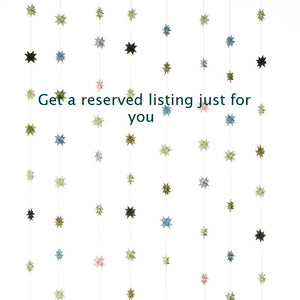 Get a reserved listing just for you