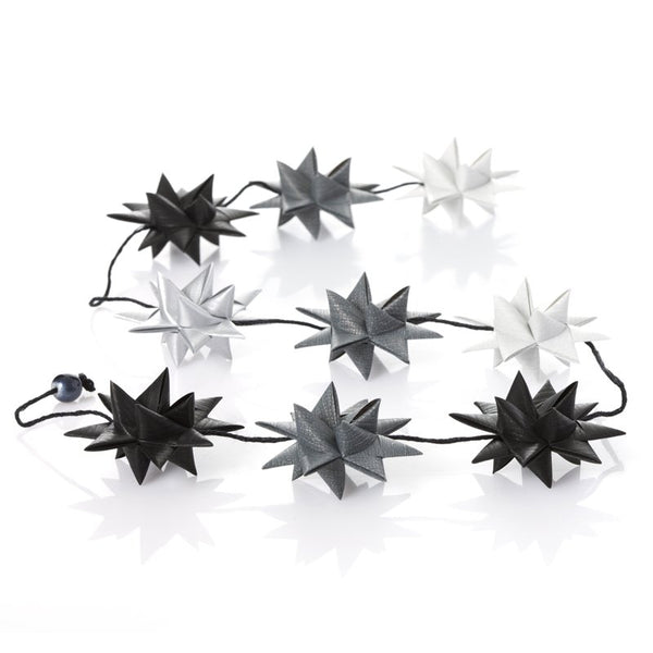 Black & Gray - star garland no 18