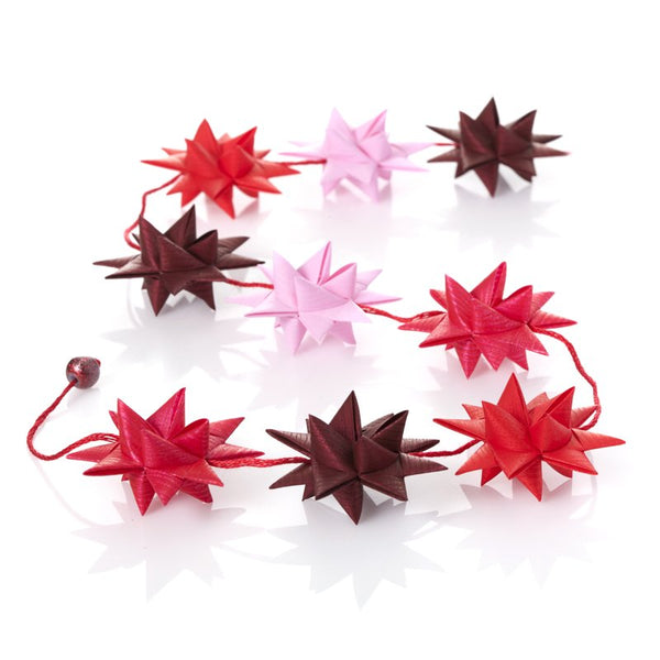 Red & Pink - star garland no 11