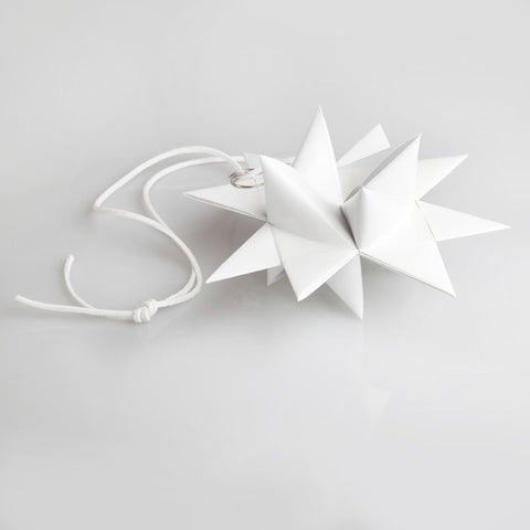 White painted star M