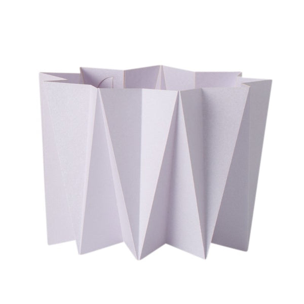 Origami cover vase - Lilas S - 2 pcs