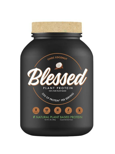 EHP Labs Blessed Plant Plant-Based Protein - 2lb - Muscle X