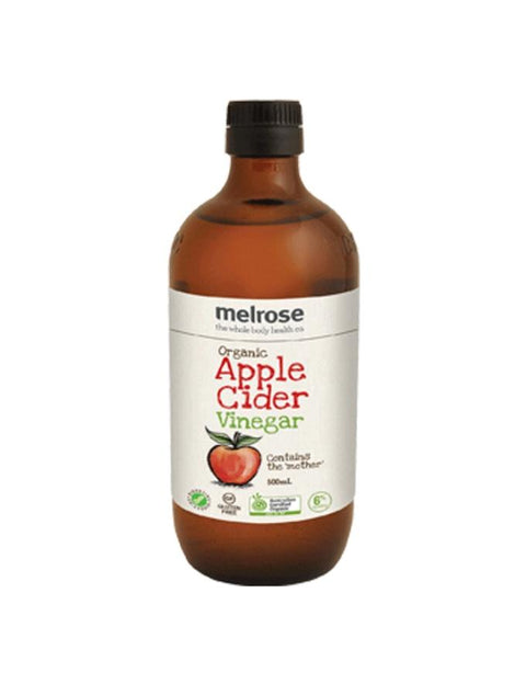 Melrose Organic Apple Cider Vinegar 500ml - Muscle X