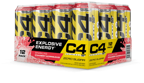 C4 Carbonated RTD's - Muscle X