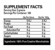 EHP Labs Crea-8 - 100 serves - Muscle X