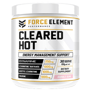 Force Elements Cleared Hot – 30 Serve - Muscle X