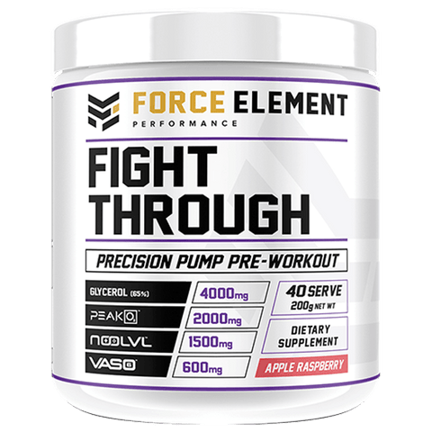 Force Elements Fight Through – 40 Serve - Muscle X