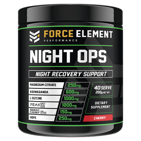 Force Elements Night Ops – 40 Serve - Muscle X