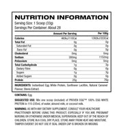 Gaspari Nutrition 100% Egg White Protein - Muscle X