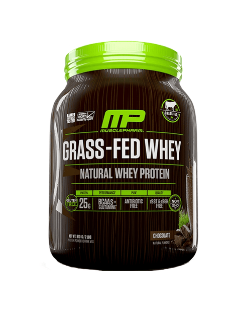 MusclePharm Grass-Fed Whey 1lb - Muscle X
