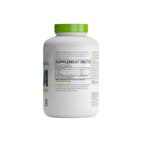 MusclePharm BCAA Capsules - Muscle X