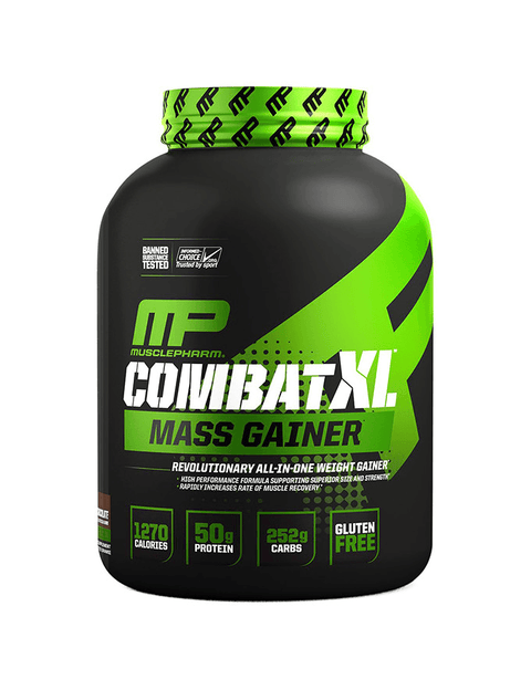 MusclePharm Combat XL Mass Gainer - 6lb - Muscle X