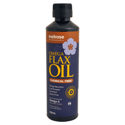 Melrose Flaxseed Oil Chemical Free 250ml - Muscle X