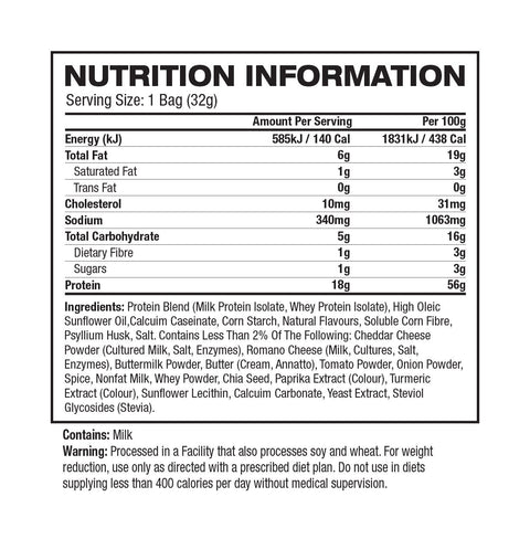 Quest Nutrition Tortilla Protein Chips - Muscle X