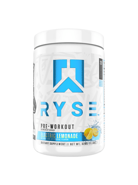 Ryse Pre Workout – 20 Serve - Muscle X