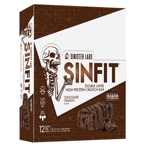 Sinister Labs SINFIT Crunch Bars - Muscle X